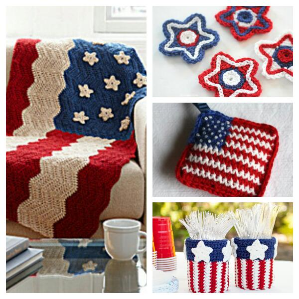 4th of july inspired free patterns