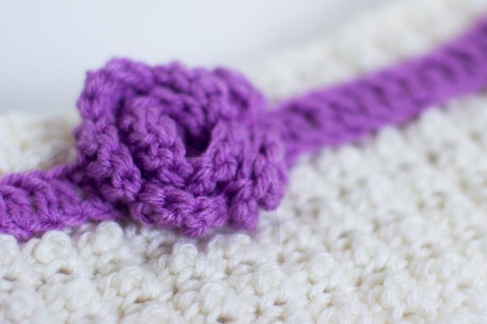 Crochet Headband With Rosette – Crochet Free Pattern