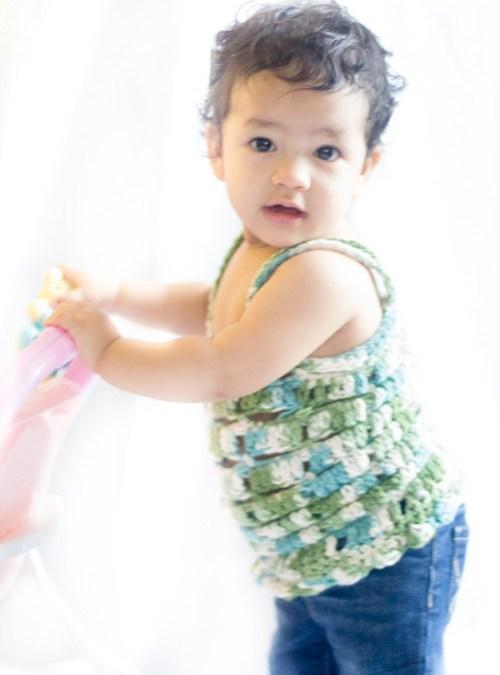Baby Top Free Crochet Pattern