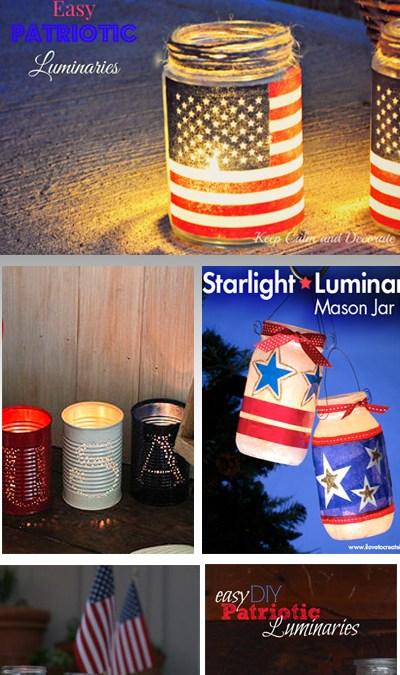 4th of July Lamps, Luminaries, and Lanterns