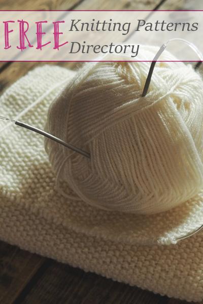 Free Knitting Patterns Directory