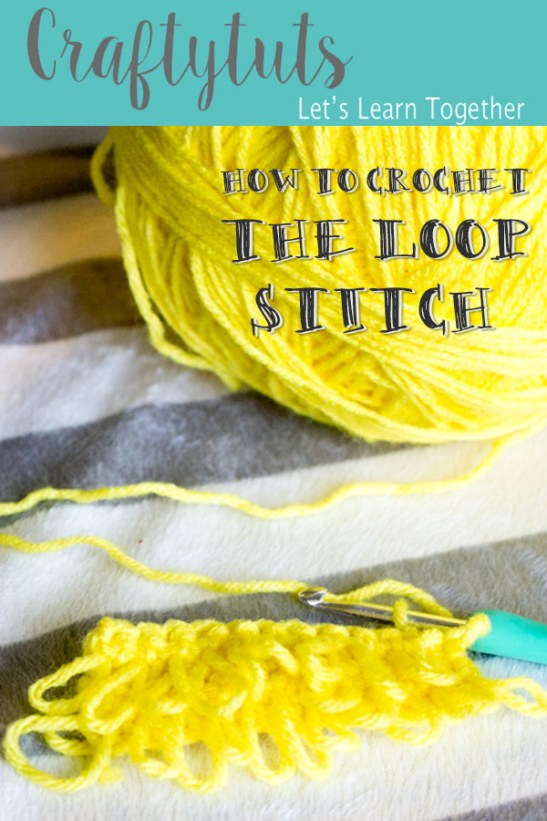 how-to-crochet-the-loop-stitch. How to crochet the loop stitch