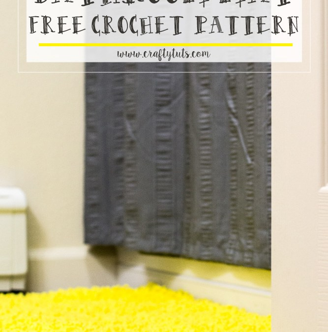 Bathroom Mat Free Crochet Pattern