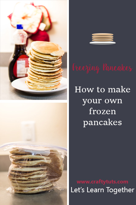 How to make your own frozen pancakes: learn how to make your own frozen pancakes for a quick and easy breakfast. Make freezer pancakes instead of buying.