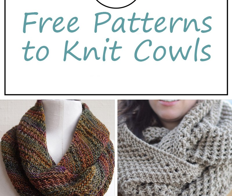 Free Patterns for Knitted Cowls