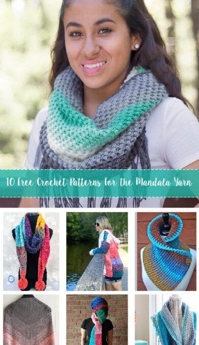 Free Crochet Patterns For the Mandala Yarn