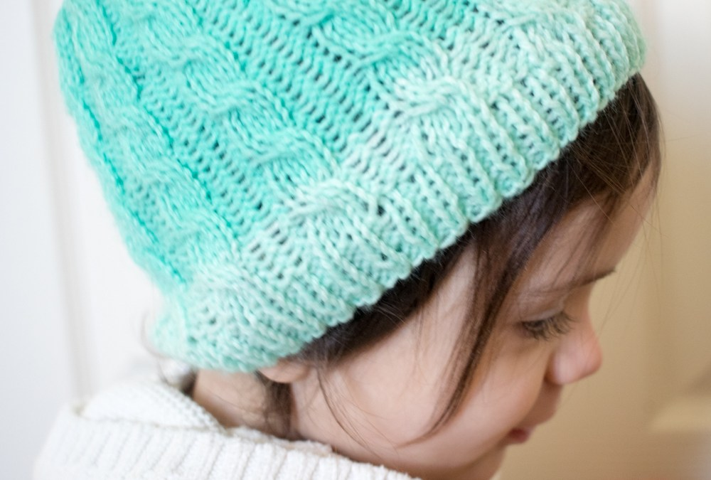 Cabled Hat – Free Knitting Pattern & KAL – Week THREE