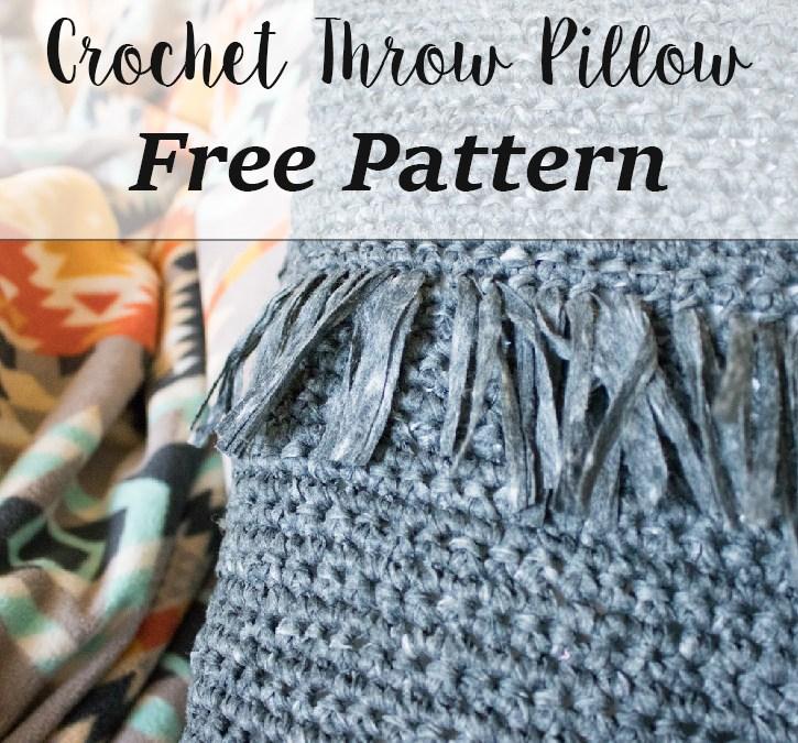 Crochet Throw Pillow – free crochet pattern
