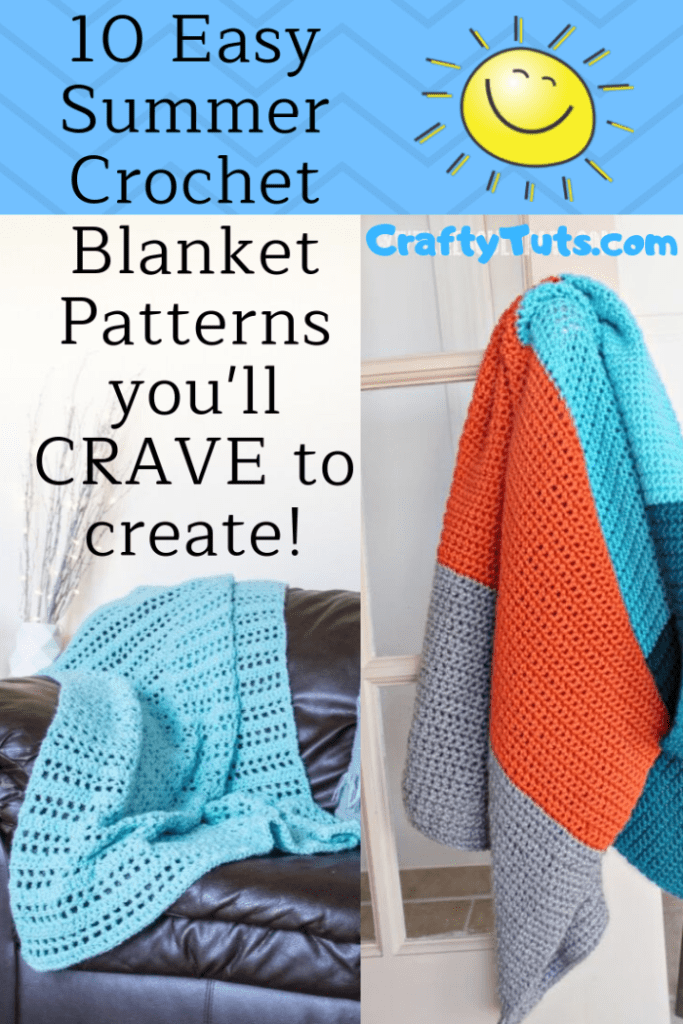10 easy Summer Crochet Blanket Patterns you'll CRAVE to create!