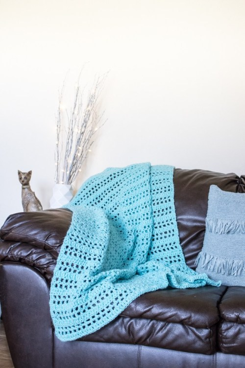 Summer Throw Free Crochet Pattern