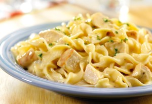 Quick Creamy Chicken & Noodles