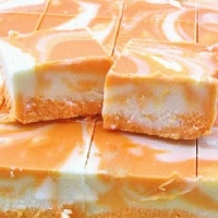 Orange Creamsicle Fudge