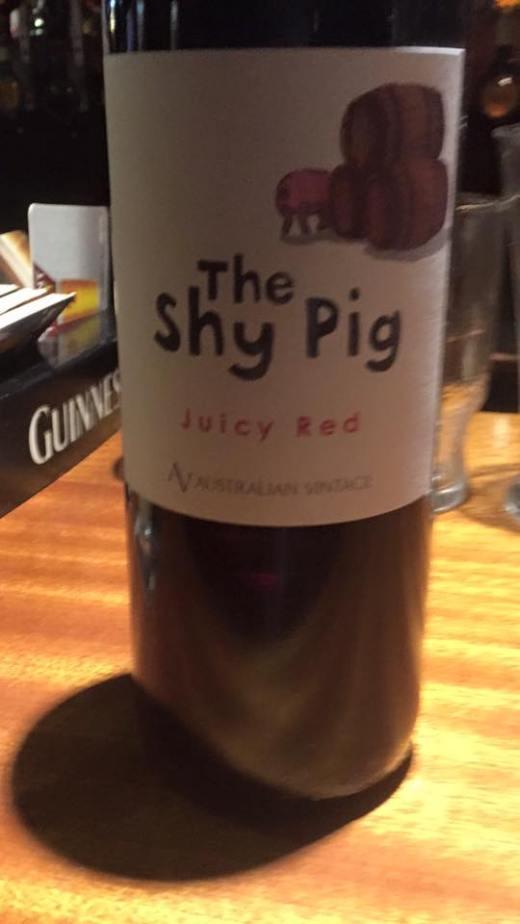shy pig