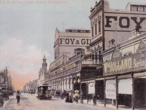Foy and Gibson's, Smith Street, Collingwood