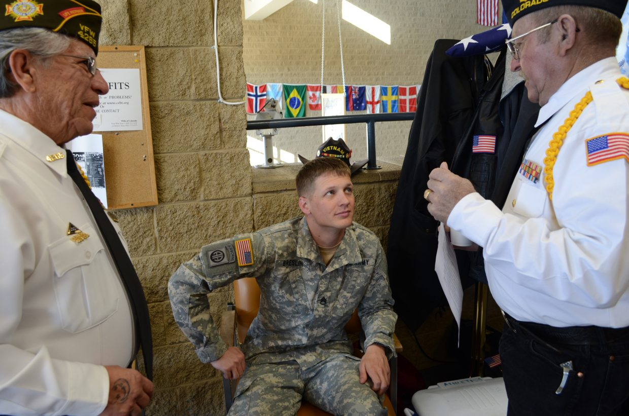 Moffat County High School Honors Veterans Day Local Vets