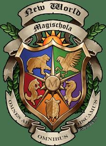 The New World Magischola Crest