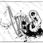 Mongolian Death Worm Sketch