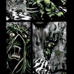 Swamp Thing Pg04 - Pencils/Inks/Colors