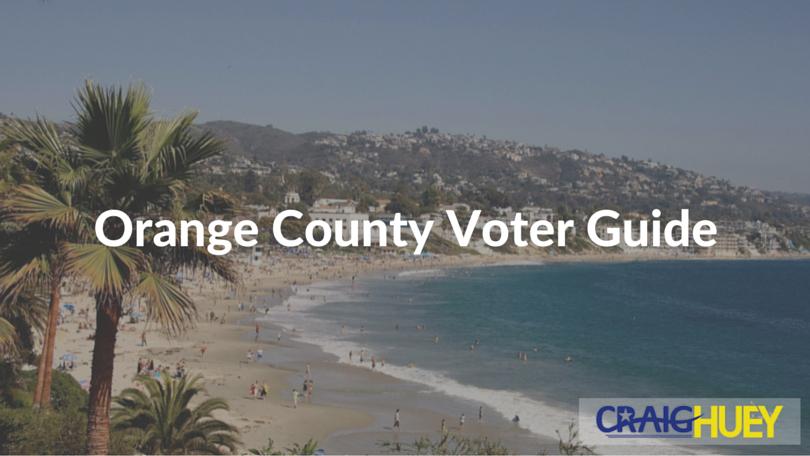 Orange County Voter Guide