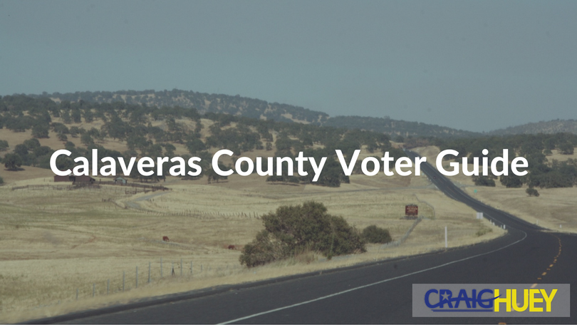 Calaveras County Voter Guide