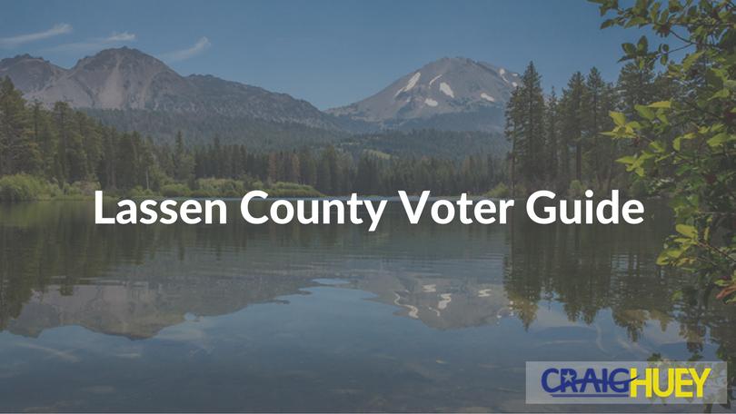 Lassen County Voter Guide
