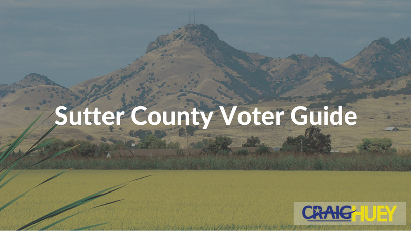 Sutter County Voter Guide
