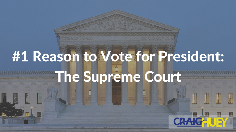 #1 Reason to Vote for President: The Supreme Court
