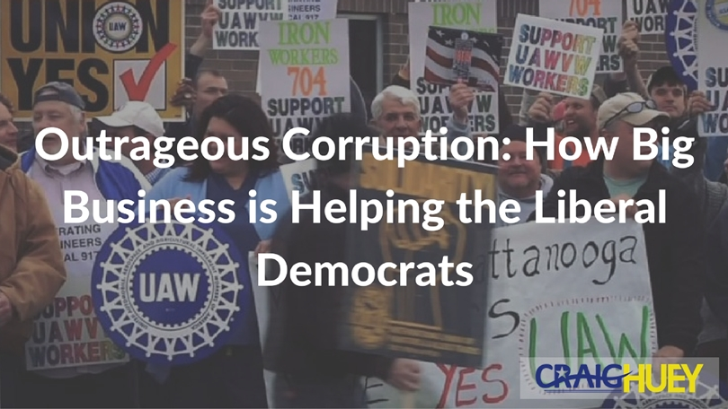 Outrageous Corruption: How Big Business is Helping the Liberal Democrats