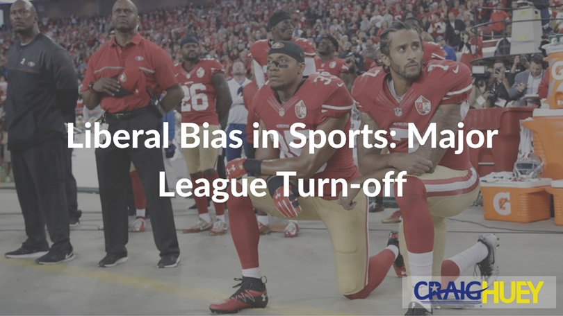 Liberal Bias in Sports: Major League Turn-off