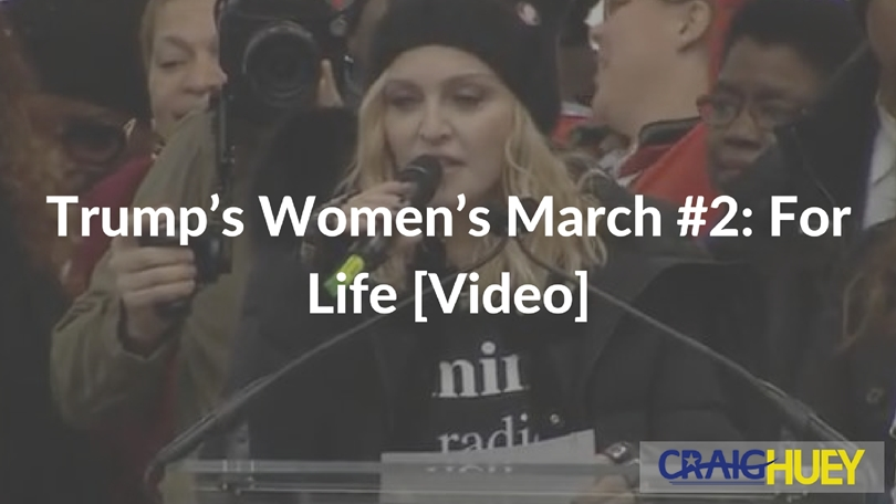 Trump's Women's March #2: For Life [Video]