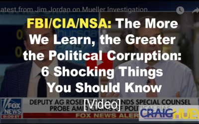 FBI/CIA/NSA: The More We Learn, the Greater the Political Corruption: 6 Shocking Things You Should Know [video]