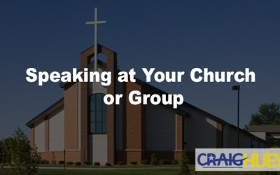Speaking at Your Group or Church