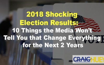 2018 Shocking Election Results: 10 Things the Media Won't Tell You that Change Everything for the Next 2 Years