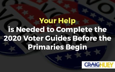 Your Help is Needed to Complete the 2020 Voter Guides Before the Primaries Begin