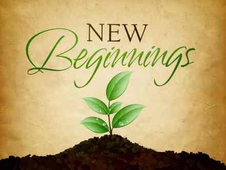 Afbeeldingsresultaat voor new beginning