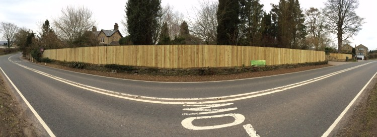 Substantial Boundary Fencing