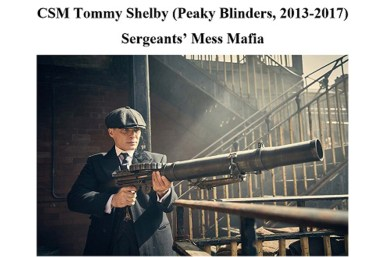 Military TV Shows - Peaky Blinders