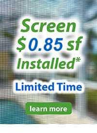 pool enclosure and lanai screening and repair