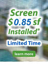 pool enclosure and lanai screening and repair