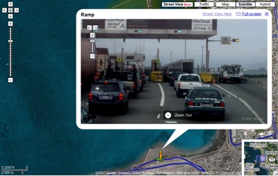 Google Maps StreetView demo