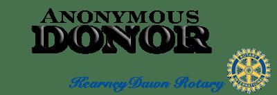 Anonymous Donor & Kearney Dawn Rotary