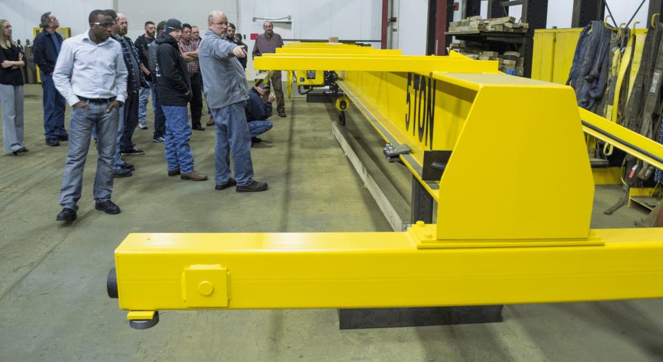 Training For Overhead Crane : Cranewerks overhead cranes for sale bridge