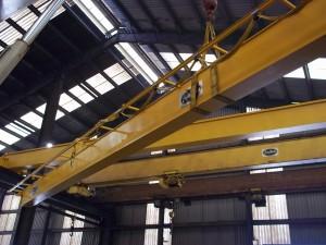 Installing a box girder