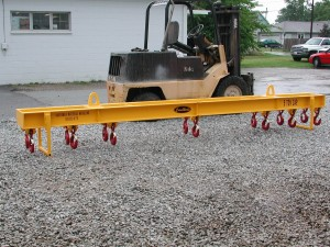 Spreader Beam Multiple Hooks with Stand