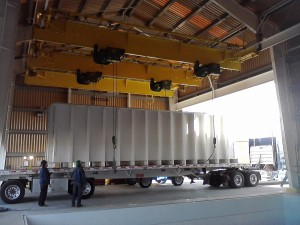 Underhung Single Girder Unloading Truck