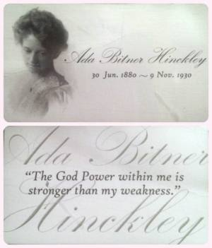 Ada Bitner quote card collage