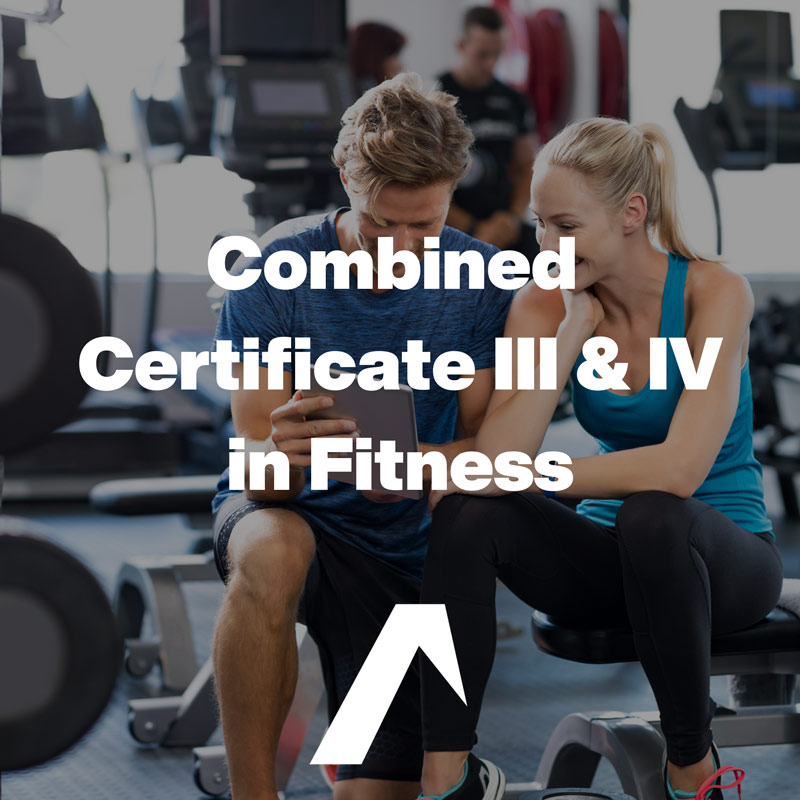 Combined SIS30315 Certificate III & SIS40215 Certificate IV In Fitness