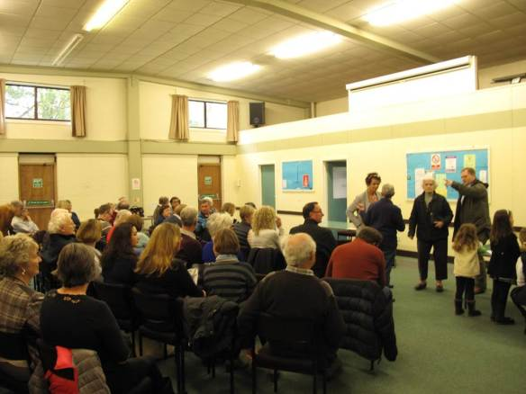 Cranleigh Residents Angry about Building on Green Fields