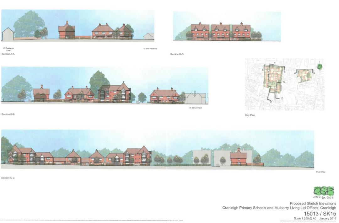 Cranleigh Primary Schools proposed elevation plans