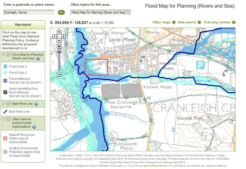 ea-flood-map-south-elmbridge-rd-thakeham-homes-site